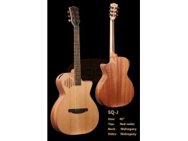 Guitar Acoustic SQOE SQ-J