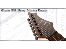 Electric Guitar Woodo GS2 Ebony 7 Strings