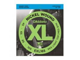 Dây Guitar Bass D'Addario EX165